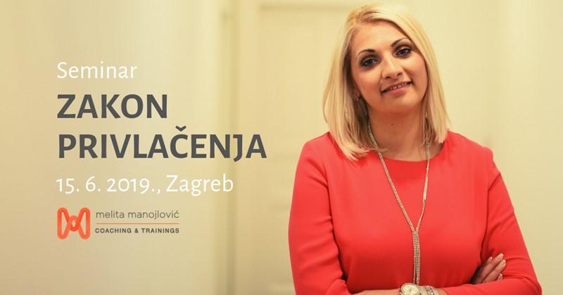 Seminar Zakon privlačenja, Melita Manojlović